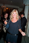 DEBBIE MOORE, The  launch of Bentley & SkinnerÕs new premises with Lady Helen Taylor at 55 Piccadilly. Bentley and Skinner will be giving a percentage of any items sold on the night to CLIC Sargent. 14 September 2010. -DO NOT ARCHIVE-© Copyright Photograph by Dafydd Jones. 248 Clapham Rd. London SW9 0PZ. Tel 0207 820 0771. www.dafjones.com.<br /> DEBBIE MOORE, The  launch of Bentley & Skinner's new premises with Lady Helen Taylor at 55 Piccadilly. Bentley and Skinner will be giving a percentage of any items sold on the night to CLIC Sargent. 14 September 2010. -DO NOT ARCHIVE-© Copyright Photograph by Dafydd Jones. 248 Clapham Rd. London SW9 0PZ. Tel 0207 820 0771. www.dafjones.com.
