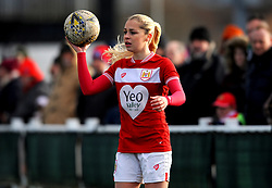 Poppy Pattinson of Bristol City - Mandatory by-line: Nizaam Jones/JMP - 27/01/2019 - FOOTBALL - Stoke Gifford Stadium - Bristol, England - Bristol City Women v Yeovil Town Ladies- FA Women's Super League 1