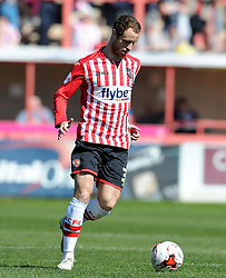 Exeter City's Ryan Harley - Photo mandatory by-line: Harry Trump/JMP - Mobile: 07966 386802 - 06/04/15 - SPORT - FOOTBALL - Sky Bet League Two - Exeter City v Newport County - St James Park, Exeter, England.