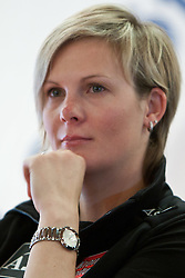 22.10.2010, Hotel Central, Soelden, AUT, FIS World Cup Ski Alpin, PK Schoeffel, im Bild Nicole Hosp, Portrait, EXPA Pictures © 2010, PhotoCredit: EXPA/ J. Groder