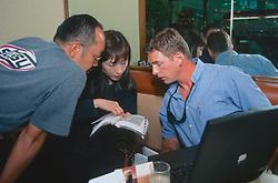 J. Nichols Researching Trip To Sendai