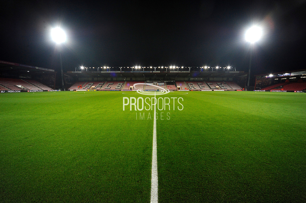 The Vitality Stadium before the Premier League match between Bournemouth and Arsenal at the Vitality Stadium, Bournemouth, England on 3 January 2017. Photo by Graham Hunt.
