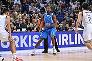 DESCRIZIONE : Eurolega Euroleague 2014/15 Gir.A Real Madrid - Dinamo Banco di Sardegna Sassari<br /> GIOCATORE : Jerome Dyson<br /> CATEGORIA : Palleggio<br /> SQUADRA : Dinamo Banco di Sardegna Sassari<br /> EVENTO : Eurolega Euroleague 2014/2015<br /> GARA : Real Madrid - Dinamo Banco di Sardegna Sassari<br /> DATA : 05/11/2014<br /> SPORT : Pallacanestro <br /> AUTORE : Agenzia Ciamillo-Castoria / Luigi Canu<br /> Galleria : Eurolega Euroleague 2014/2015<br /> Fotonotizia : Eurolega Euroleague 2014/15 Gir.A Real Madrid - Dinamo Banco di Sardegna Sassari<br /> Predefinita :