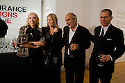 FRANCA SOZZANI. ( SHE WON THE FASHION PRIZE FOR THE ITALIAN VOGUE BLACK ISSUE.) RONNIE NEWHOUSE; ALAN YENTOB; JONATHAN NEWHOUSE.    , brit Insurance Design Awards 2009. Design Museum. London. 18 March 2009. *** Local Caption *** -DO NOT ARCHIVE-© Copyright Photograph by Dafydd Jones. 248 Clapham Rd. London SW9 0PZ. Tel 0207 820 0771. www.dafjones.com.<br /> FRANCA SOZZANI. ( SHE WON THE FASHION PRIZE FOR THE ITALIAN VOGUE BLACK ISSUE.) RONNIE NEWHOUSE; ALAN YENTOB; JONATHAN NEWHOUSE.    , brit Insurance Design Awards 2009. Design Museum. London. 18 March 2009.
