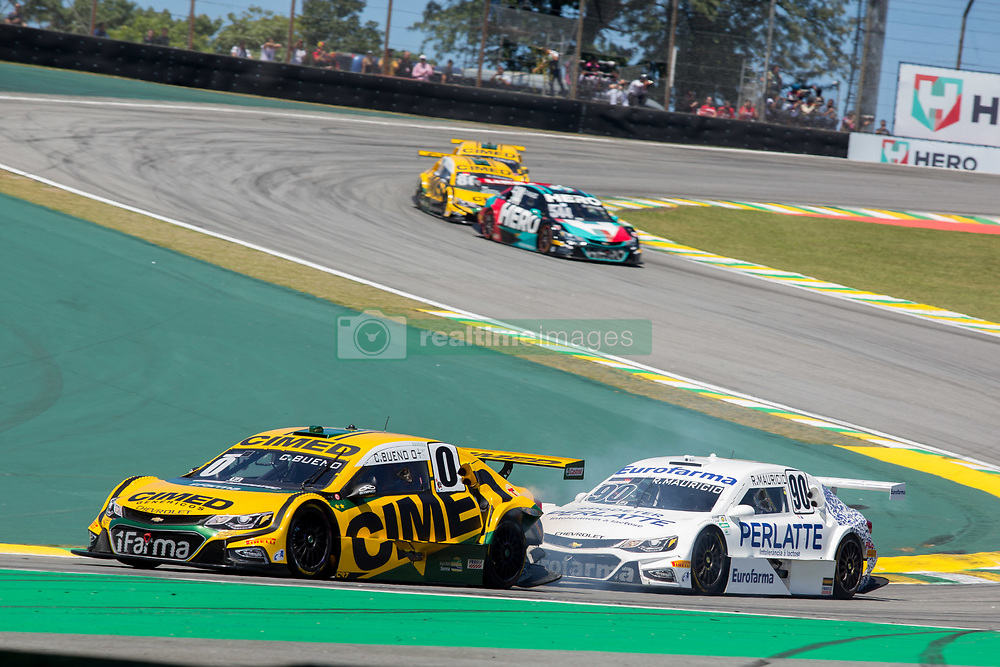 December 9, 2018 - Sao Paulo, Sao Paulo, Brazil - Nov, 2018 - #0 CACA BUENO of Cimed Chevrolet Racing Team during the final stage of the 2018 championship of the Brazilian Stock Car, at Interlagos circuit, in Sao Paulo, Brazil. (Credit Image: © Paulo Lopes via ZUMA Wire) (Credit Image: © Paulo Lopes/ZUMA Wire)