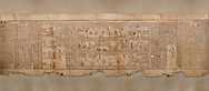 """Ancient Egyptian Book of the Dead papyrus - Spell 105 for gratifying the deceased with Ka, Iufankh's Book of the Dead, Ptolemaic period (332-30BC).Turin Egyptian Museum<br /> <br /> The spell is """" Hail to thee, my spirit, my lifetime. Behold I am come unto thee risen, powerful, posessed of a soul, mighty.<br /> <br /> You who weighs in the balance. may truth rise to the nose of Ra, on that day of judgement, ley not my head be taken away from me.""""<br /> <br /> The translation of  Iuefankh's Book of the Dead papyrus by Richard Lepsius marked a truning point in the studies of ancient Egyptian funereal studies. .<br /> <br /> If you prefer to buy from our ALAMY PHOTO LIBRARY  Collection visit : https://www.alamy.com/portfolio/paul-williams-funkystock/ancient-egyptian-art-artefacts.html  . Type -   Turin   - into the LOWER SEARCH WITHIN GALLERY box. Refine search by adding background colour, subject etc<br /> <br /> Visit our ANCIENT WORLD PHOTO COLLECTIONS for more photos to download or buy as wall art prints https://funkystock.photoshelter.com/gallery-collection/Ancient-World-Art-Antiquities-Historic-Sites-Pictures-Images-of/C00006u26yqSkDOM"""