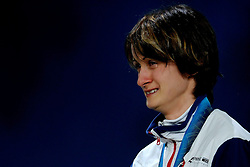 14-02-2010 ALGEMEEN: OLYMPISCHE SPELEN: CEREMONIE: VANCOUVER<br /> Ceremonie 3000 meter schaatsen / Goud voor Martina Sablikova CZE <br /> ©2010-WWW.FOTOHOOGENDOORN.NL
