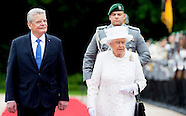 QUEEN ELIZABETH II STATE VISIT TO GERMANY  DAY 1