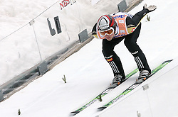 Anze Damjan (SLO) at Flying Hill Individual in 2nd day of 32nd World Cup Competition of FIS World Cup Ski Jumping Final in Planica, Slovenia, on March 20, 2009. (Photo by Vid Ponikvar / Sportida)
