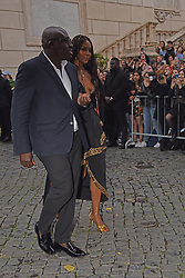 Rome, Piazza Del Campidoglio Event Gucci Parade at the Capitoline Museums, In the picture: Naomi Campbell