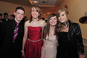 Shane Broderick, Tuam, Brigid Mongan, Loughrea, Rebecca O Reilly, Loughrea, Jade Danielsat the  Ability West,  second annual Best Buddies ball, 2010 in the Galway Bay Hotel, Salthill Galway. Photo:Andrew Downes.