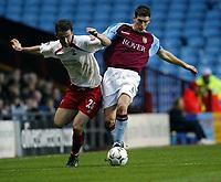 Fotball, 29. november 2003, Premier League, Aston Villa - Southampton,   David Prutton, Southamton og Gareth Barry, Aston Villa