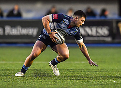 Cardiff Blues' Ellis Jenkins - Mandatory by-line: Craig Thomas/Replay images - 31/12/2017 - RUGBY - Cardiff Arms Park - Cardiff , Wales - Blues v Scarlets - Guinness Pro 14