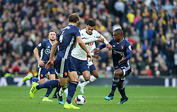 Dele Alli of Tottenham Hotspur drives at the Watford defence - Mandatory by-line: Arron Gent/JMP - 19/10/2019 - FOOTBALL - Tottenham Hotspur Stadium - London, England - Tottenham Hotspur v Watford - Premier League