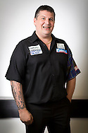 Gary Anderson pictured at the Brighton Centre in Brighton, East Sussex for Betway Premier League Darts. Picture date: Thursday 15th May, 2014. Photo credit should read: Chris Ison.