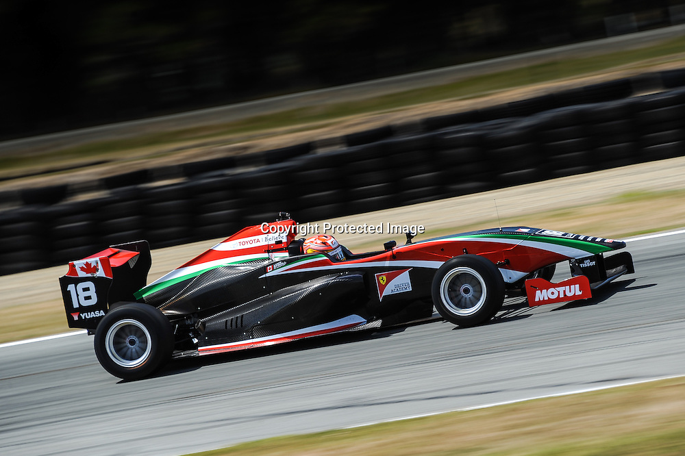 Lance Stroll from Canada, contestant in the 2015 Toyota Racing Series in New Zealand