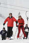 Fotosessie met de koninklijke familie in Lech /// Photoshoot with the Dutch royal family in Lech .<br /> <br /> Op de foto / On the photo:  Koningin Maxima en Koning Willem Alexander ///// Queen Maxima and King Willem Alexander