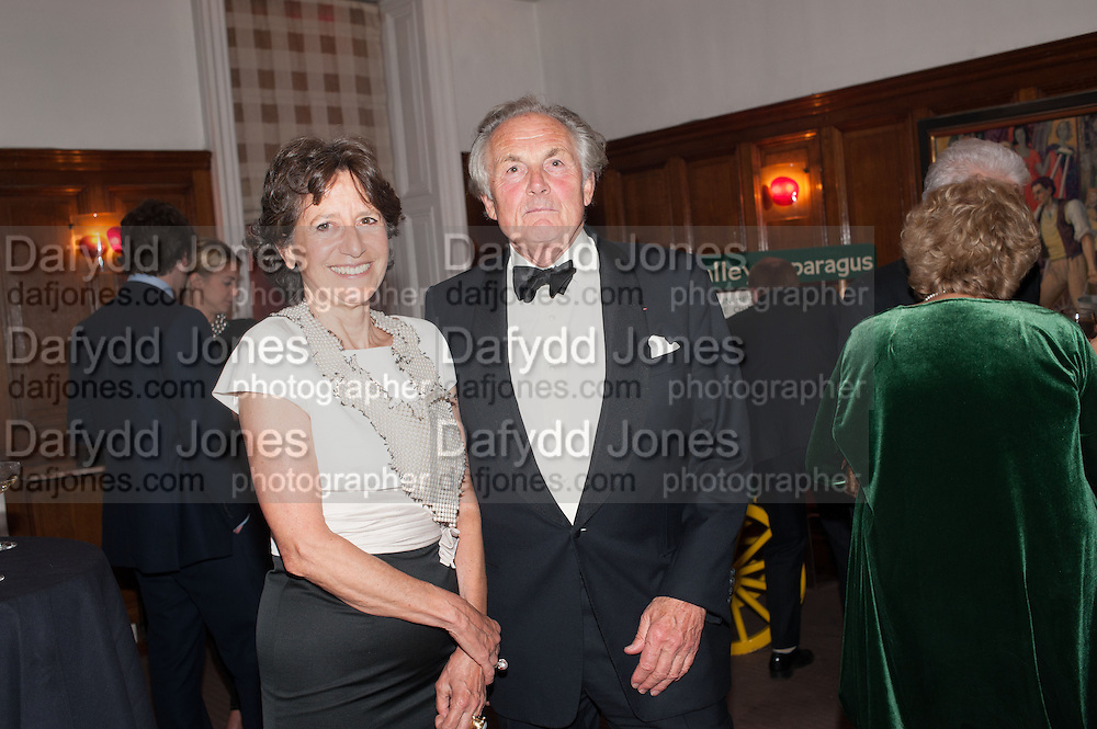 OLGA POLIZZI; LORD HINDLIPRocco Forte's Brown's Hotel Hosts 175th Anniversary Party, Browns Hotel. Albermarle St. London. 16 May 2013