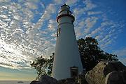 Fishing off Marblehead Lighthouse, Ohio