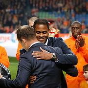 NLD/Amsterdam/20121114 - Vriendschappelijk duel Nederland - Duitsland, huldiging Patrick Kluivert