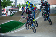 #148 (VAN GENDT Twan) NED at Round 6 of the 2019 UCI BMX Supercross World Cup in Saint-Quentin-En-Yvelines, France