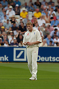 Lord's London, 1st NPower Test   England v New Zealand.  Andrew Flintoff. 20/05/2004 <br /> [Credit Peter Spurrier Intersport Images}