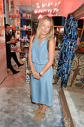 DAVINA HARBORD at a party to celebrate the launch of Baar & Bass, 336 Kings Road, London on 9th September 2014.