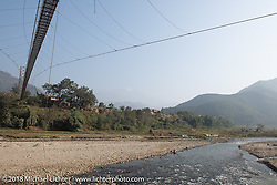 Stop along the Trishuli River on day-10 of our Himalayan Heroes adventure  riding from Nuwakot back to Kathmandu, Nepal. Thursday, November 15, 2018. Photography ©2018 Michael Lichter.