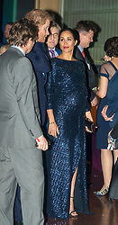 The Duke and Duchess of Sussex at the premiere of Cirque du SoleilÕs Totem, in support of the Sentebale charity, at the Royal Albert Hall on London.