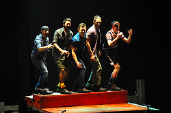 South Africa - Johannesburg. 29-08-18  Montecasino Teatro, Fourways. 'Footdance' piece from Tap Dogs.  Picture: Karen Sandison/African News Agency(ANA)