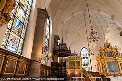 Tyska Kyrkan (German Church) in Gamla Stan, Stockholm, Sweden. Thursday, May 30, 2019. Photography ©2019 Michael Lichter.
