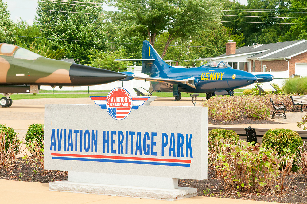 Aviation Heritage Park in Bowling Green, Kentucky on Tuesday, August 15, 2017. Copyright 2017 Jason Barnette