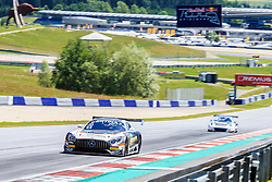09.06.2017, Red Bull Ring, Spielberg, AUT, ADAC GT Masters, Spielberg, Training, im Bild Patrick Assenhelmer (GER)/Maximilian Goetz (GER) Mercedes AMG Team HTP Motorsport // German ADAC GT MAsters driver Patrick Assenheimer/German ADAC GT masters driver Maximilian Goetz of Mercedes AMG Team HTP Motorsport during the practice for ADAC GT Masters at the Red Bull Ring in Spielberg, Austria on 2017/06/09. EXPA Pictures © 2017, PhotoCredit: EXPA/ Dominik Angerer