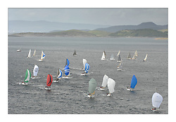 Sailing - The 2007 Bell Lawrie Scottish Series hosted by the Clyde Cruising Club, Tarbert, Loch Fyne..Brilliant first days conditions for racing across the three fleets..Classes two and three on Loch Fyne..