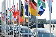 Zes dagen na de crash van vlucht MH17 zijn de eerste lichamen van slachtoffers overgebracht naar Nederland. De Nederlandse C130 Hercules en een Australische C17 Globemaster vlogen de 40 lichamen van de internationale luchthaven van Charkov naar Eindhoven. In totaal zijn vandaag 40 lichamen in Nederland aangekomen. <br /> <br /> Six days after the crash of flight MH17 are the first bodies of victims to the Netherlands. The Dutch C130 Hercules and an Australian C17 Globemaster flew the 40 bodies of the Kharkov International Airport to Eindhoven. A total of 40 bodies arrived today in the Netherlands.<br /> <br /> Op de foto / On the Photo:  Koning Willem-Alexander en koningin Maxima met Premier Mark Rutte /  King Willem-Alexander and Queen Maxima  with Prime Minister Mark Rutte