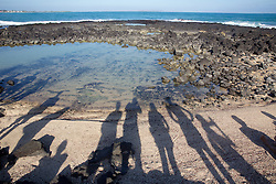 SBSJ Group Shadows, Playa Del Amor, Isabela Island