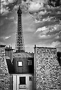 Eifel Tower, Paris, France, from Passy