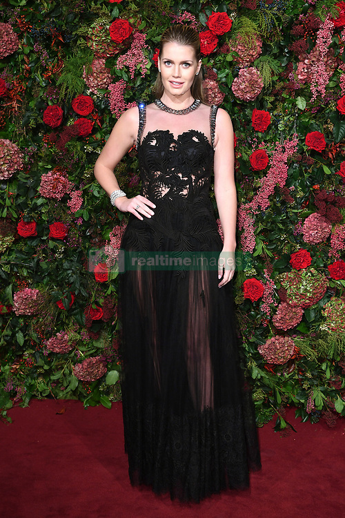 Lady Kitty Spencer attending the Evening Standard Theatre Awards 2018 at the Theatre Royal, Drury Lane in Covent Garden, London. Restrictions: Editorial Use Only