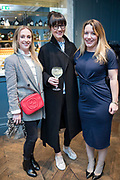 NO FEE PICTURES<br /> 12/4/18 Rose Paget-Franck, Watford, Kate O'Brien, Castlekock and Caoimhe Cormley, Donegal at the launch of Jenny Huston and Leah Hewson's jewellery and fine art collaboration, Edge Only x Leah Hewson at The Dean Dublin. Arthur Carron