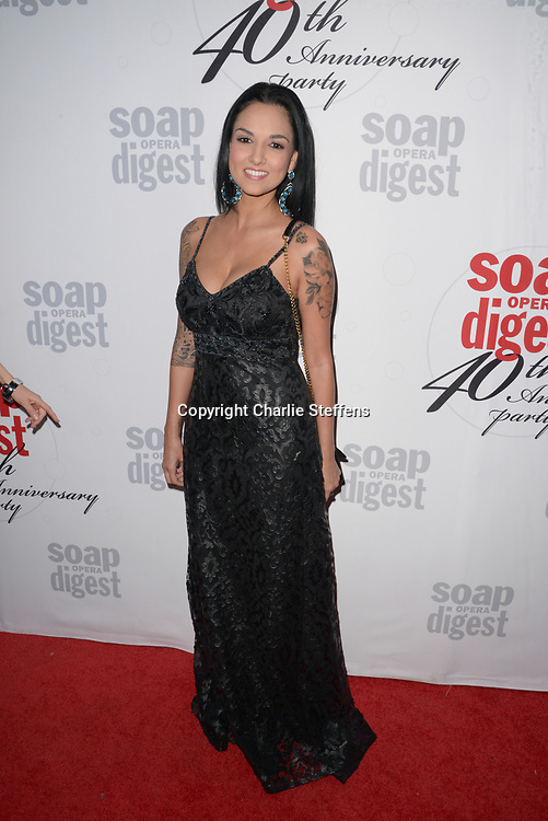 LANEYA ARVIZU at Soap Opera Digest's 40th Anniversary party at The Argyle Hollywood in Los Angeles, California