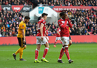 Football - 2018 / 2019 Emirates FA Cup - Fifth Round: Bristol City vs. Wolverhampton Wanderers<br /> <br /> Bristol City's Kasey Palmer goes close in the first half, at Ashton Gate.<br /> <br /> COLORSPORT/ASHLEY WESTERN
