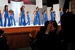 Contestants take part in the Miss Teen Globe Distrito Capital beauty competition. The contestants spent months taking runway, beauty and excercise classes in preparation for the pageant. The winner goes on to the Miss Teen Globe Venezuela competition.