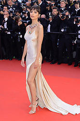 May 17, 2017 - Cannes, France - WORLD RIGHTS.Cannes, France, 17.05.2017, The 70th Annual Cannes Film Festival. The 70th edition of the film festival will run from May 17 to May 28. Opening Gala Red Carpet Arrivals -  Screening of the movie Les Fantomes d'Ismael (Ismael's Ghosts) by Arnaud Desplechin, .NZ. Emily Ratajkowski .Fot. Radoslaw Nawrocki/FORUM (FRANCE - Tags: ENTERTAINMENT; RED CARPET) (Credit Image: © FORUM via ZUMA Press)
