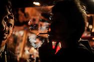 """Gau giroa Portuko RanpinOndarrun (Euskal Herri), 2013ko Urriaren 12an. Marabilli sormen festibala"""" Aitzol Aramaio zenaren indarrarekin jaiotako egitasmo bat da eta helburua da hainbat artista Ondarroan biltzea, idazleak, musikariak, zinegileak, antzerkilariak, artista plastikoak, diseinatzaileak...  (Josu Trueba Leiva / Bostok Photo)"""