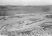 """Ackroyd 00591-2. """"Swan Island aerials. March 10, 1948"""""""