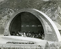 1926 Orchestra practicing at the Hollywood Bowl