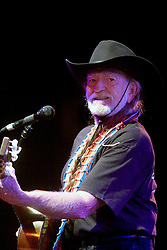 17 December, 05. Tipitina's, New Orleans, Louisiana.<br />  Arlo Guthrie and friends Riding on the city of New Orleans tour benefiting Musicares Hurricane relief 2005 sponsored by Amtrak. Music legend Willie Nelson wows the crowd on the last date of the hugely successful tour raising money for hard hit New Orleans musicians.<br /> Photo; ©Charlie Varley/varleypix.com
