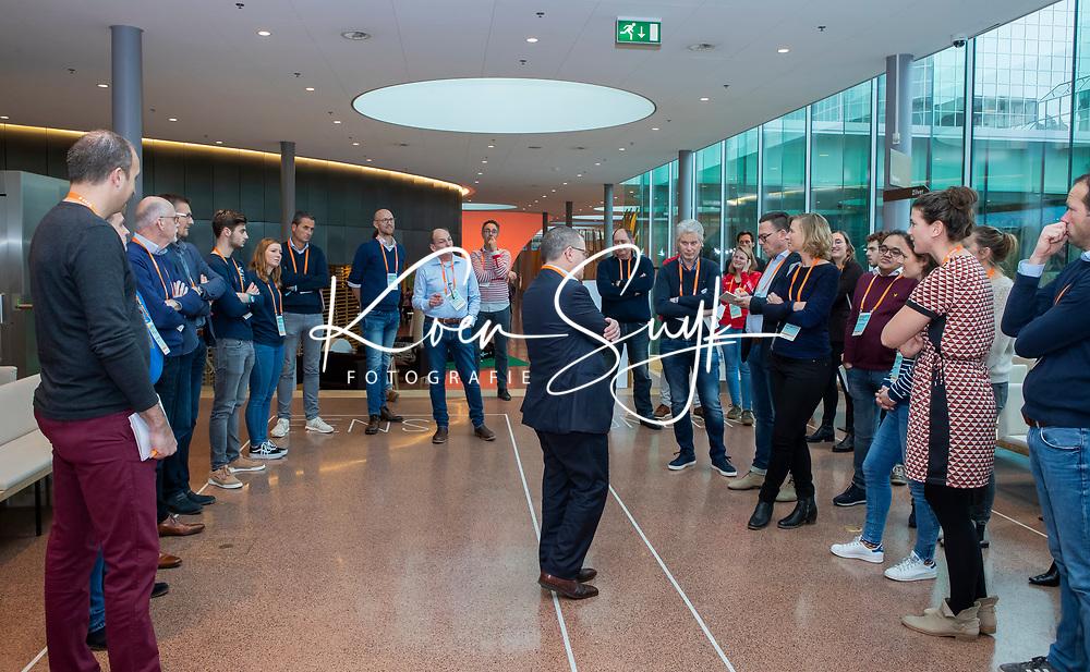 UTRECHT - Workshop Ten Have olv Ton Speet (Ten Have) Nationaal Hockey Congres van de KNHB, COPYRIGHT KOEN SUYK
