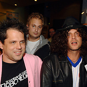 NLD/Amsterdam/20060930 - Premiere Jackass 2, Jeff Tremaine en Johnny Knoxville