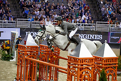 Beerbaum Ludger, GER, Chiara<br /> Round 2<br /> Longines FEI World Cup Jumping, Omaha 2017 <br /> © Hippo Foto - Dirk Caremans<br /> 01/04/2017